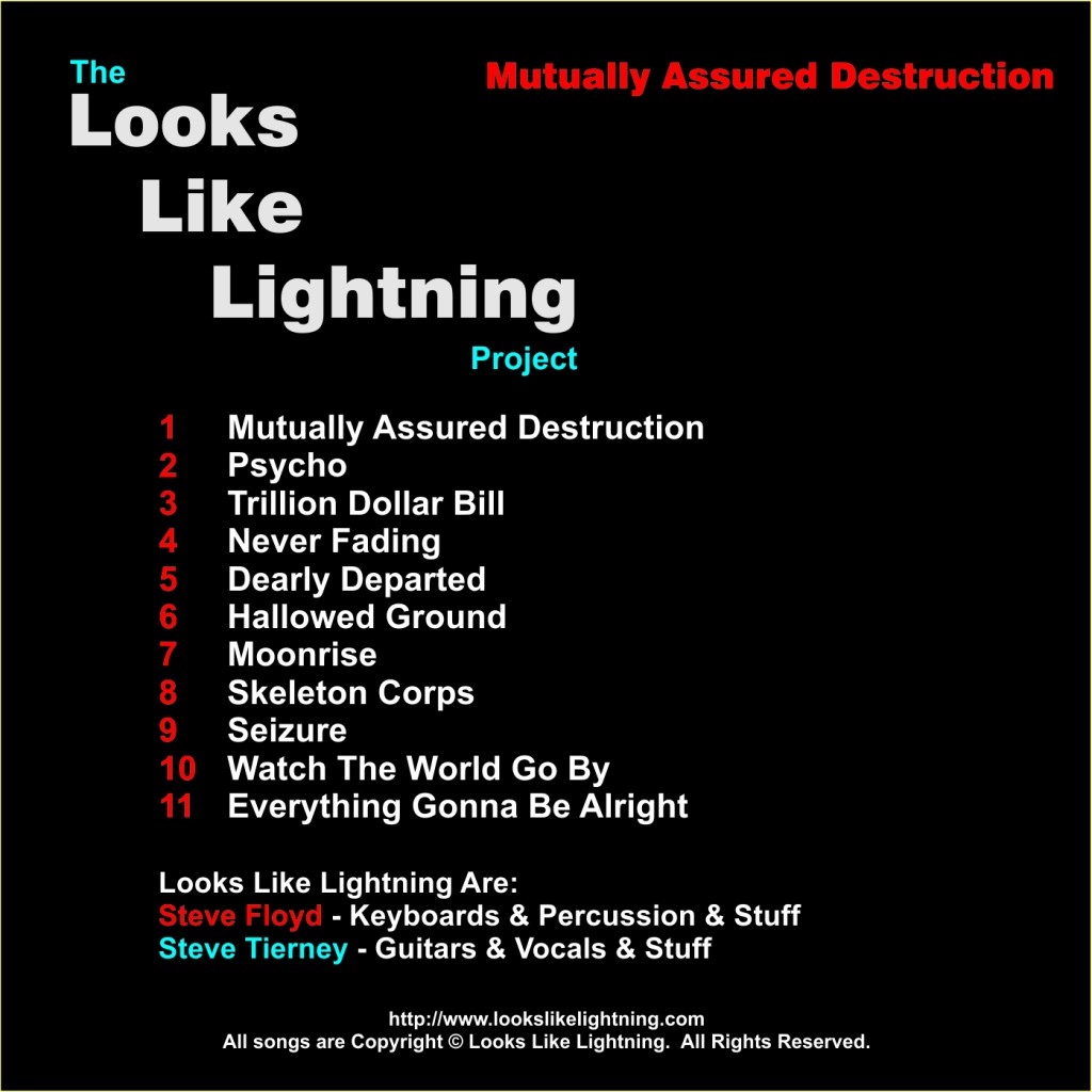 CD Back - Mutually Assured Destruction